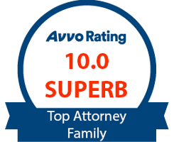 AVVO 10.0 Superb Top Attorney Family